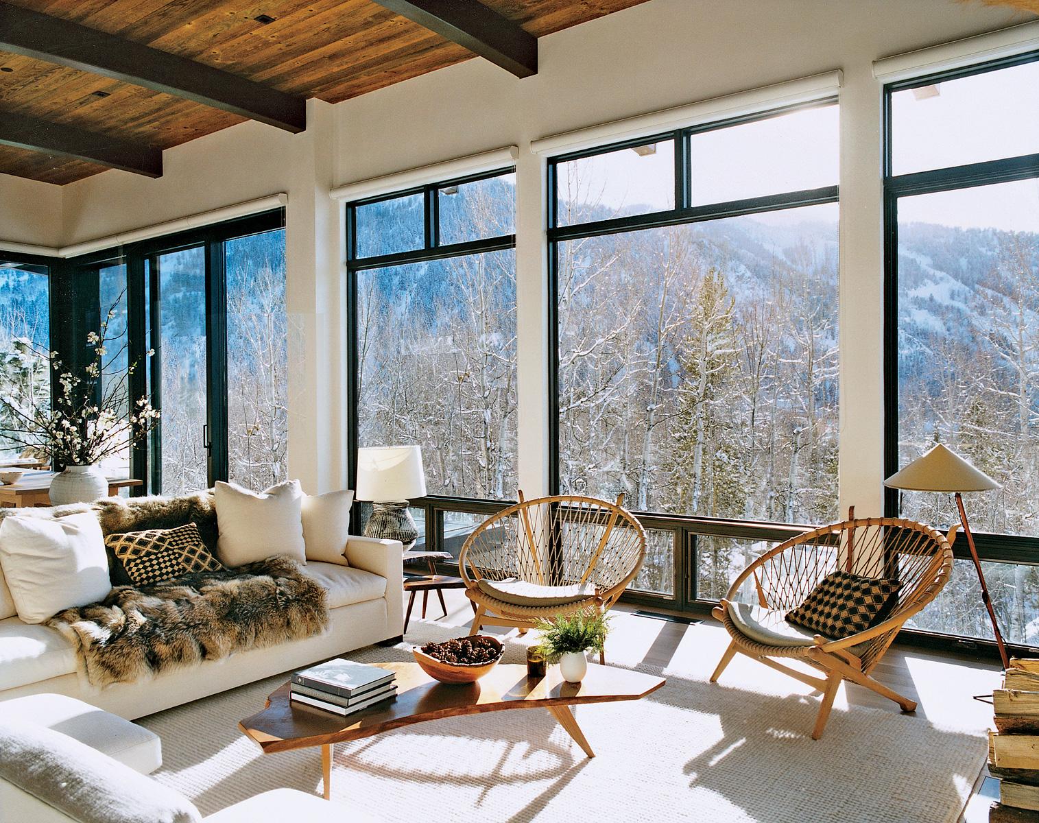 Aerin lauder s aspen home running in heelz for Aspen house