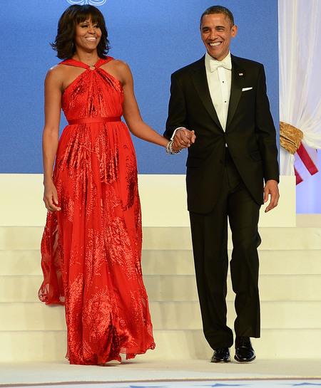 michelle_obama_barack_president_red_jason_wu_dress_inauguration_ball